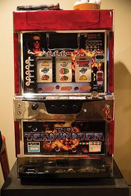 The Terminator slot machine.