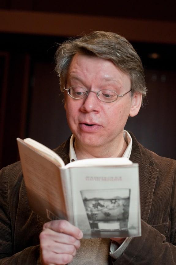 Michael Stebbins reads Sedaris