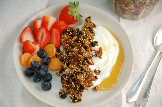 Blueberry-Turmeric-Granola