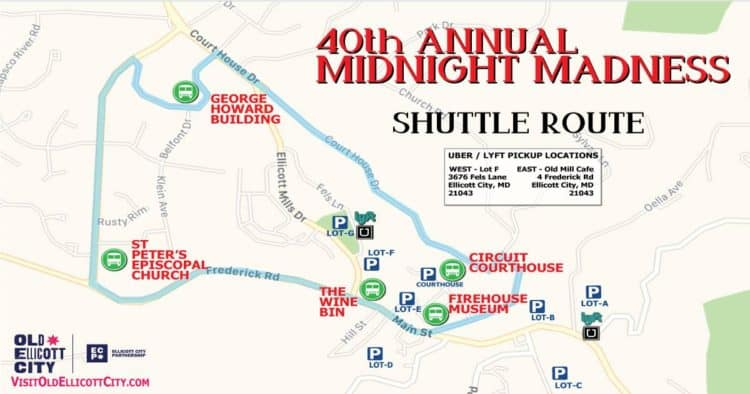 Midnight Madness Map