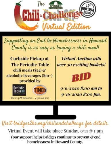 Bridges Chili & Challenge flyer