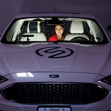 Anuja Sonalker's new technology means she can let the car do the driving.